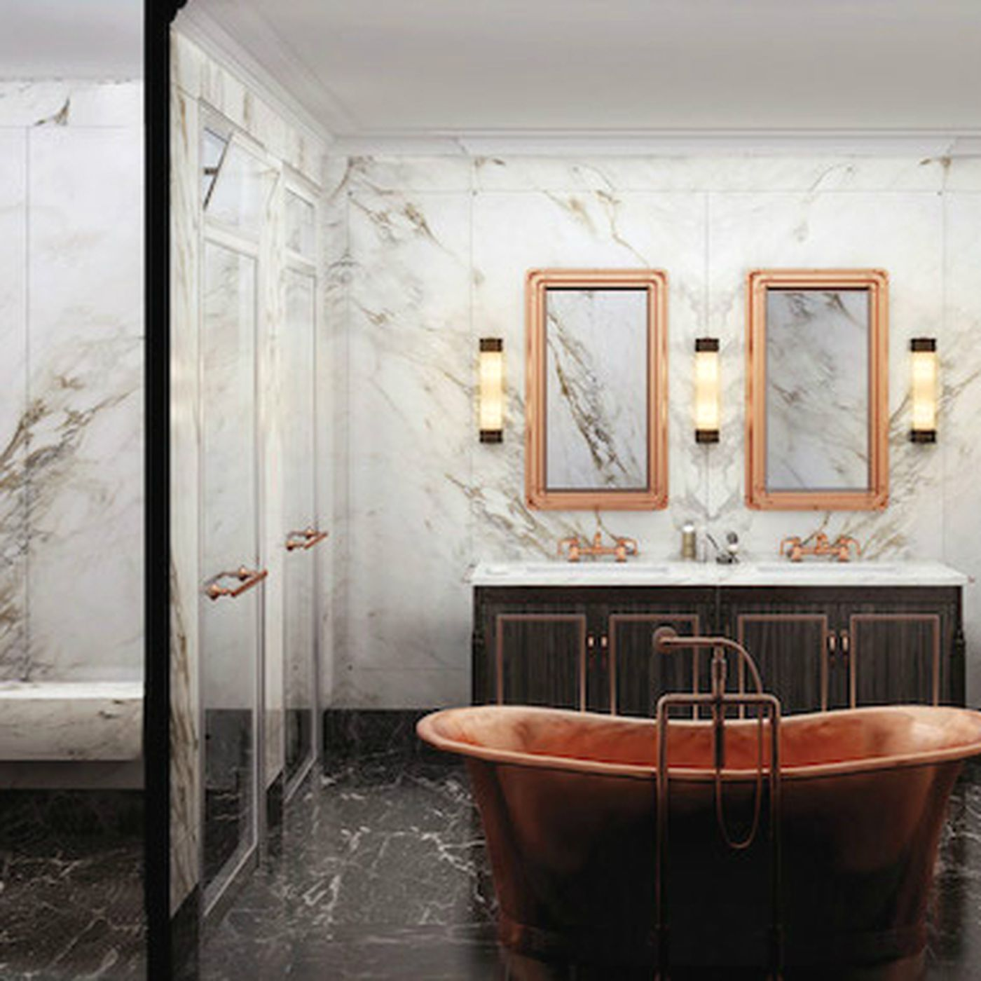 What Is Bath In French toilet room within the bathroom: the ultimate luxury or just