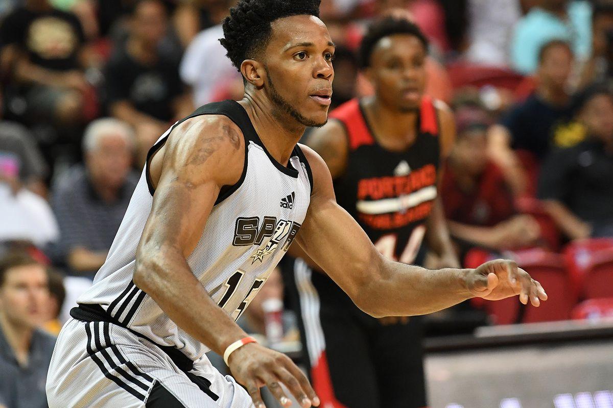 NBA: Summer League-San Antonion Spurs at Portland Trail Blazers