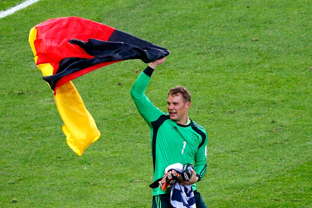 Image result for manuel neuer world cup 2014
