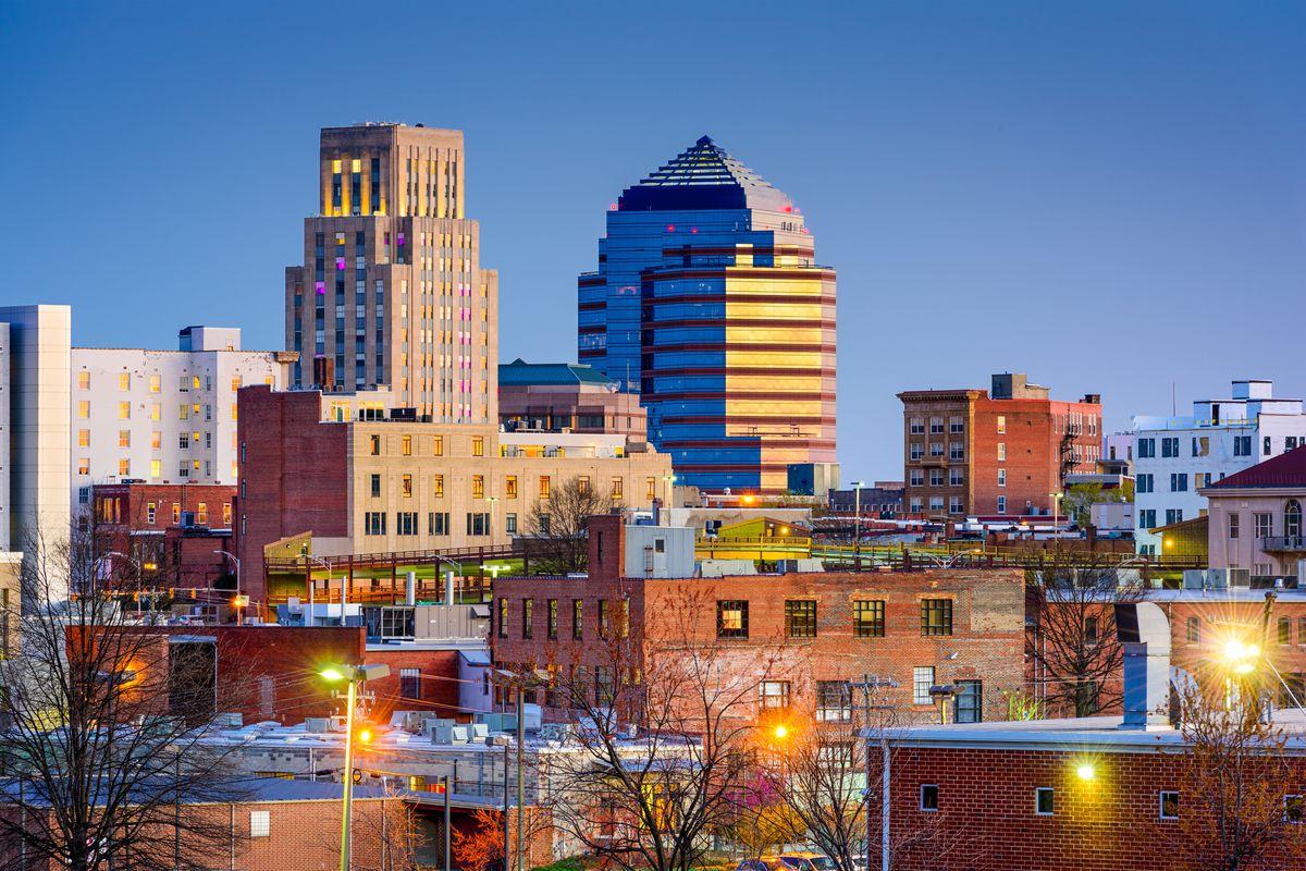 Downtown Durham, North Carolina