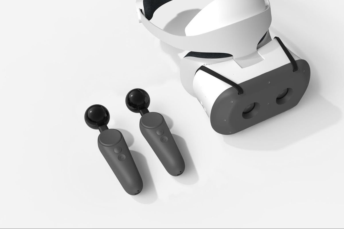 Google built VR motion controllers for the Lenovo Mirage Solo