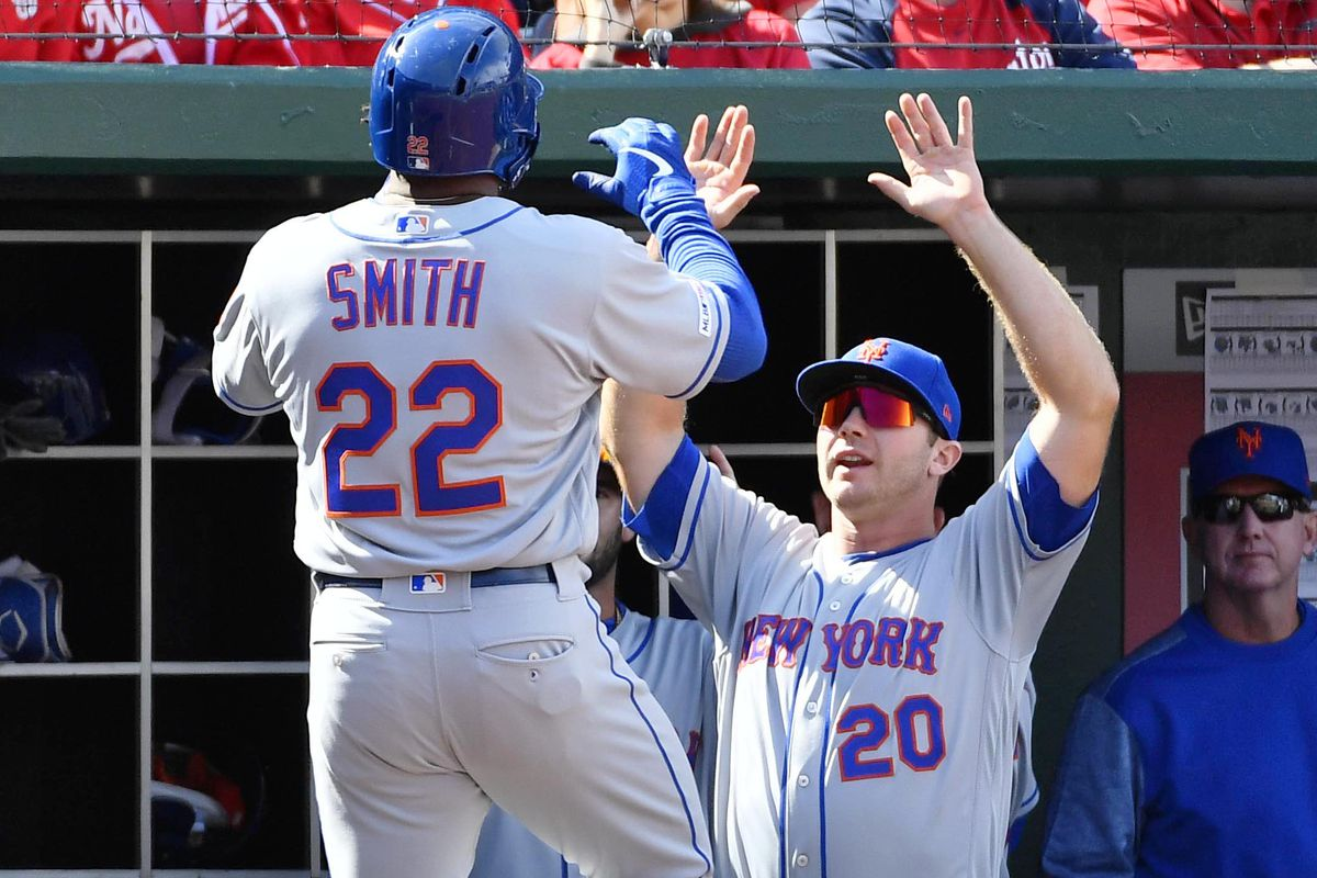 Image result for dominic smith and pete alonso