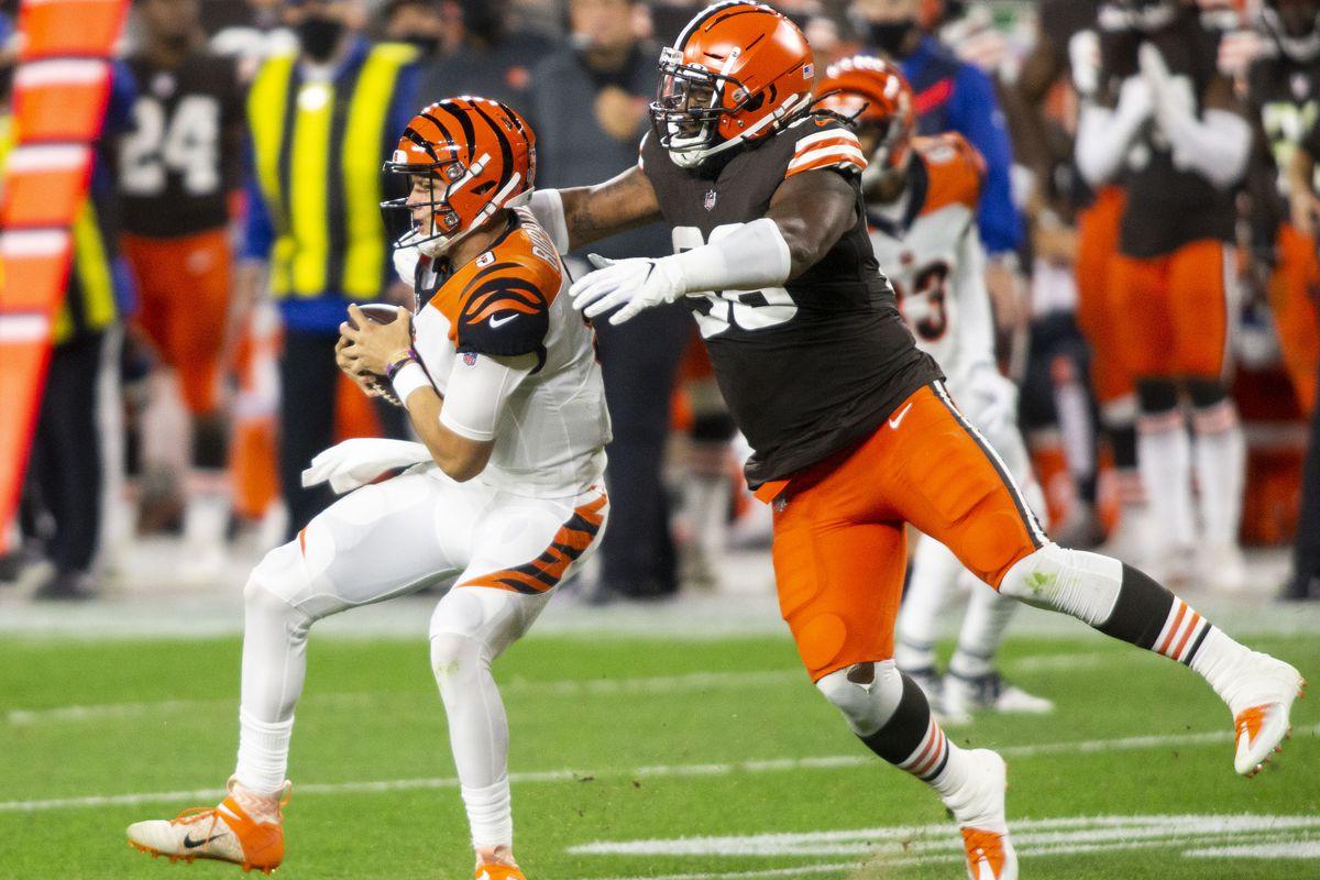 NFL: Cincinnati Bengals at Cleveland Browns