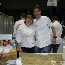 Sarah Grueneberg and Aaron Diener - Cafe Spiaggia