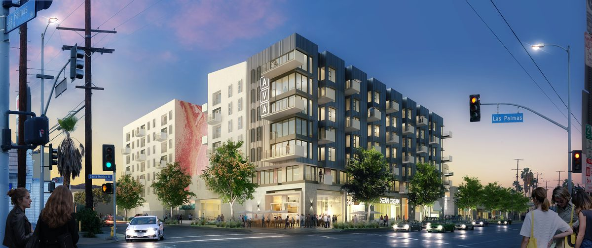 KEARCH_AVA_V02_REV_FINAL Take a look at mixed-user bringing 695 apartments to Santa Monica Boulevard near Highland