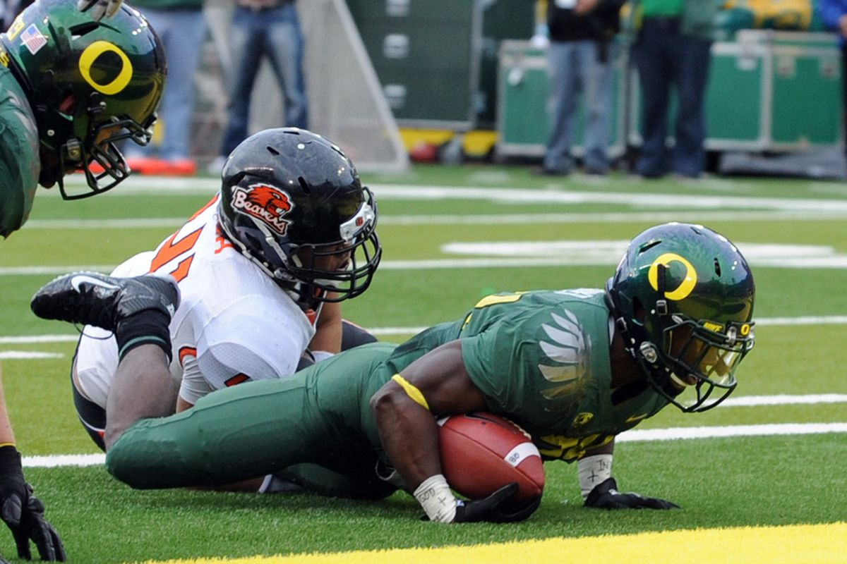 Ducks eclipsed by the Gators.