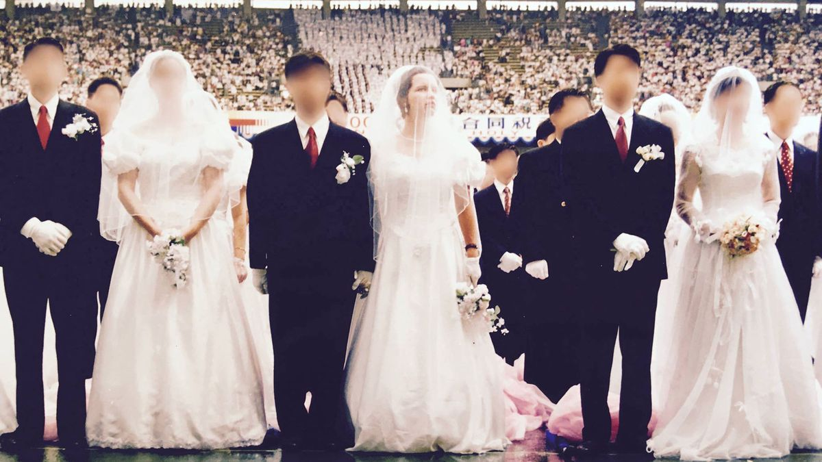 Multiple couples get married at Unification Church mass wedding in Blessed Child.