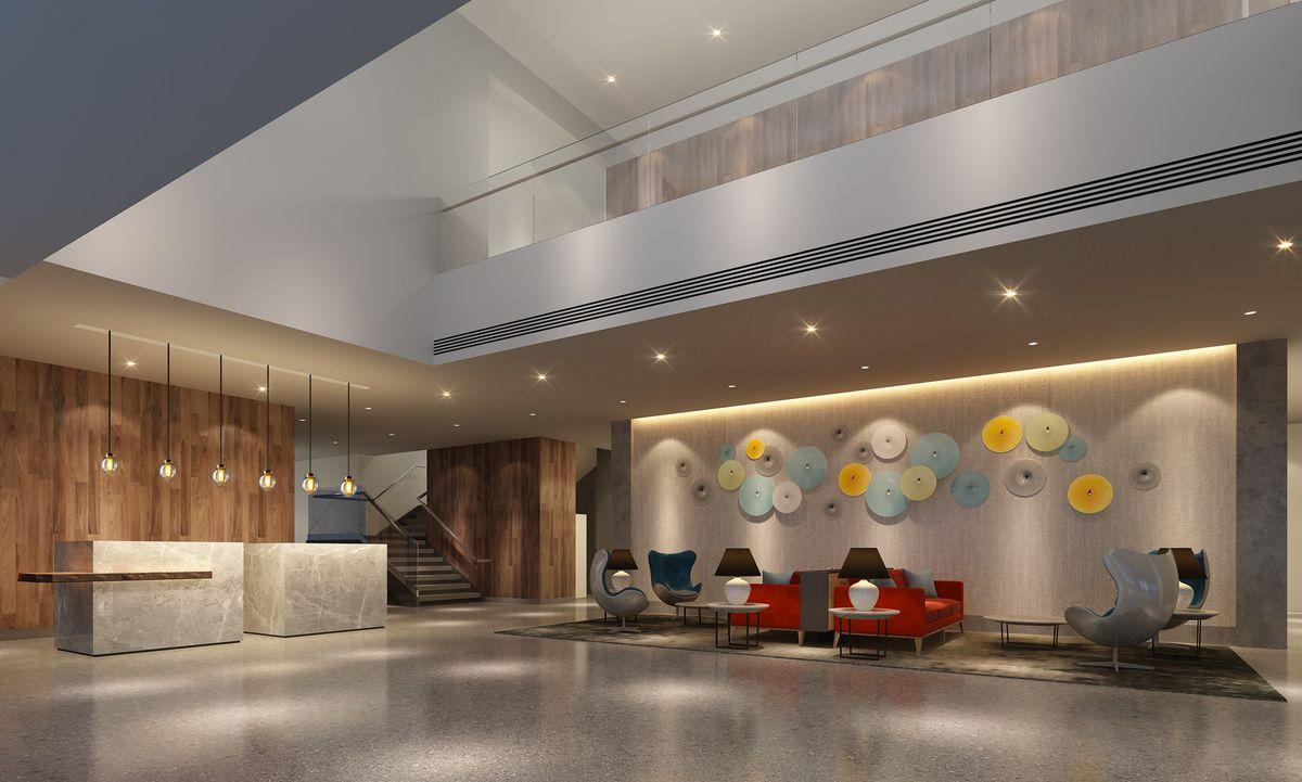 Hotel Interurban Will Be Tukwila S Tallest Building