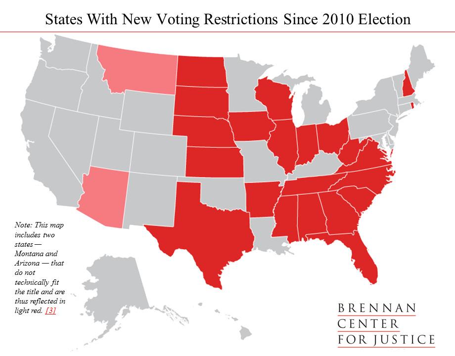 Brennan voting restrictions