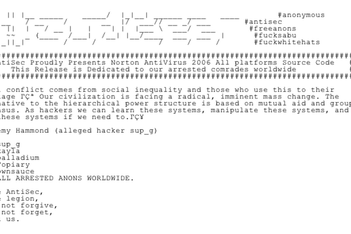 AntiSec Norton AntiVirus 2006