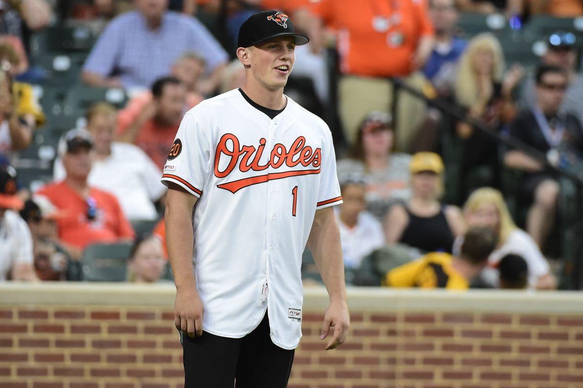 MLB: San Diego Padres at Baltimore Orioles