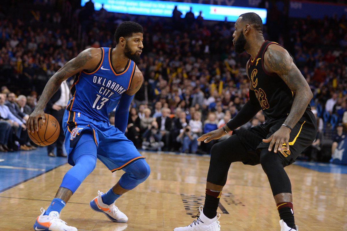 NBA: Cleveland Cavaliers at Oklahoma City Thunder