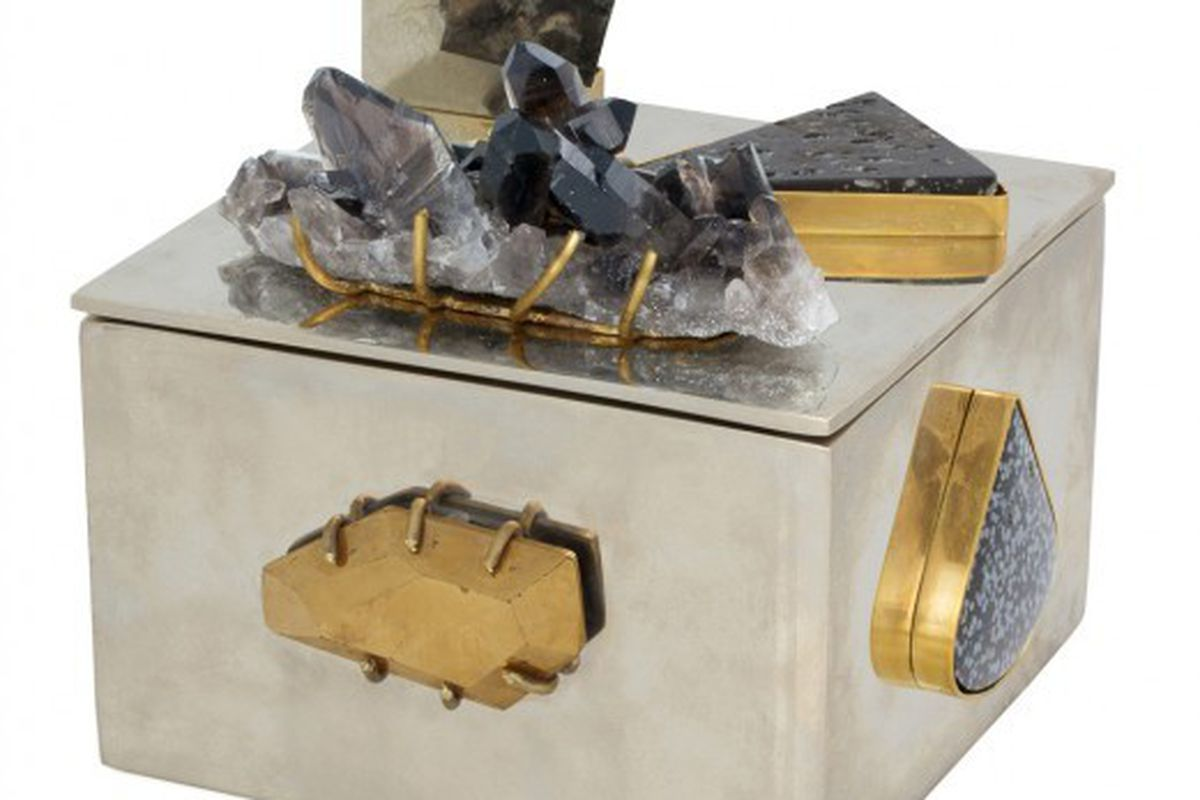 "Kelly Wearstler super bauble box, $3,800 via <a href=""https://paddle8.com/work/kelly-wearstler/23429-super-bauble-box"">Paddle8.com</a>"