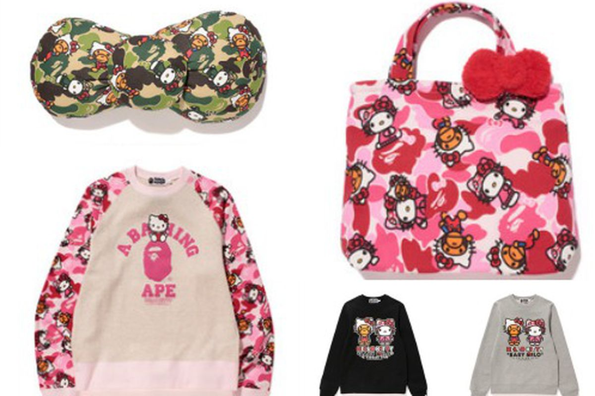 424b392459ab The Bape x Hello Kitty Collab Is Here to Appease Your Inner Tween ...