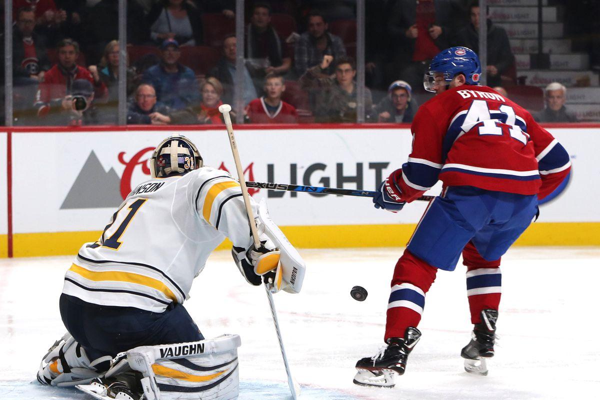 NHL: Buffalo Sabres at Montreal Canadiens