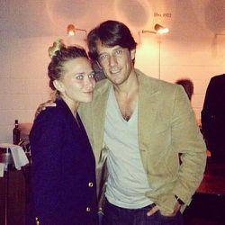 Francesco with Mary Kate Olsen.