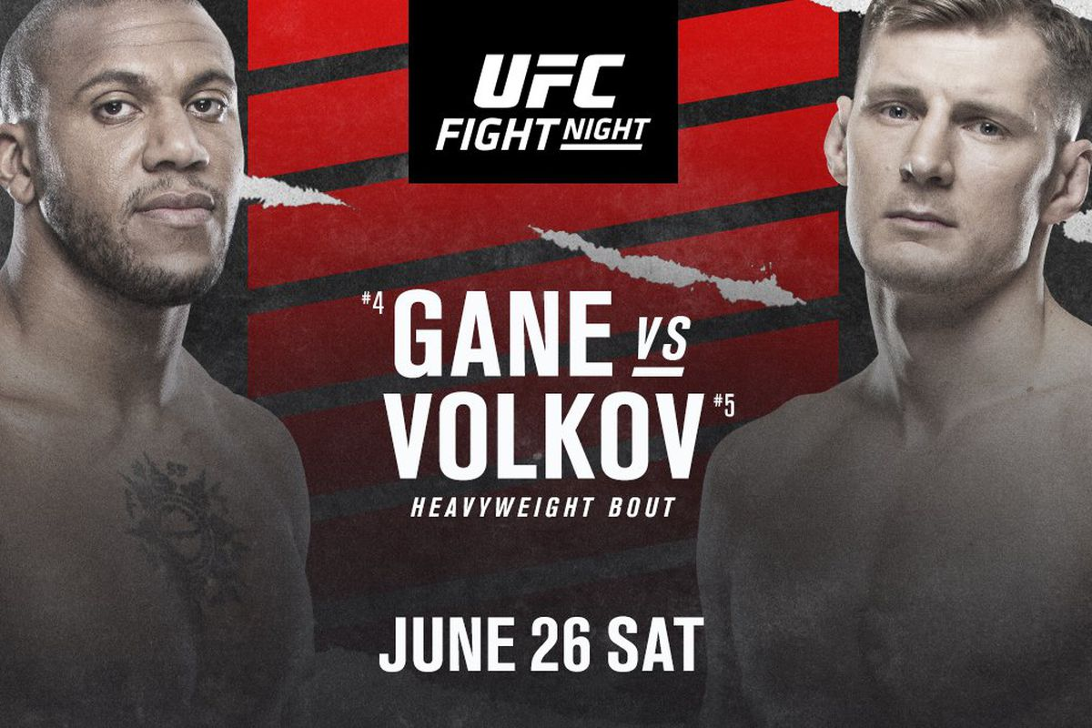 Watch UFC Fight Night: Gane vs. Volkov 6/26/21 Full Show Online