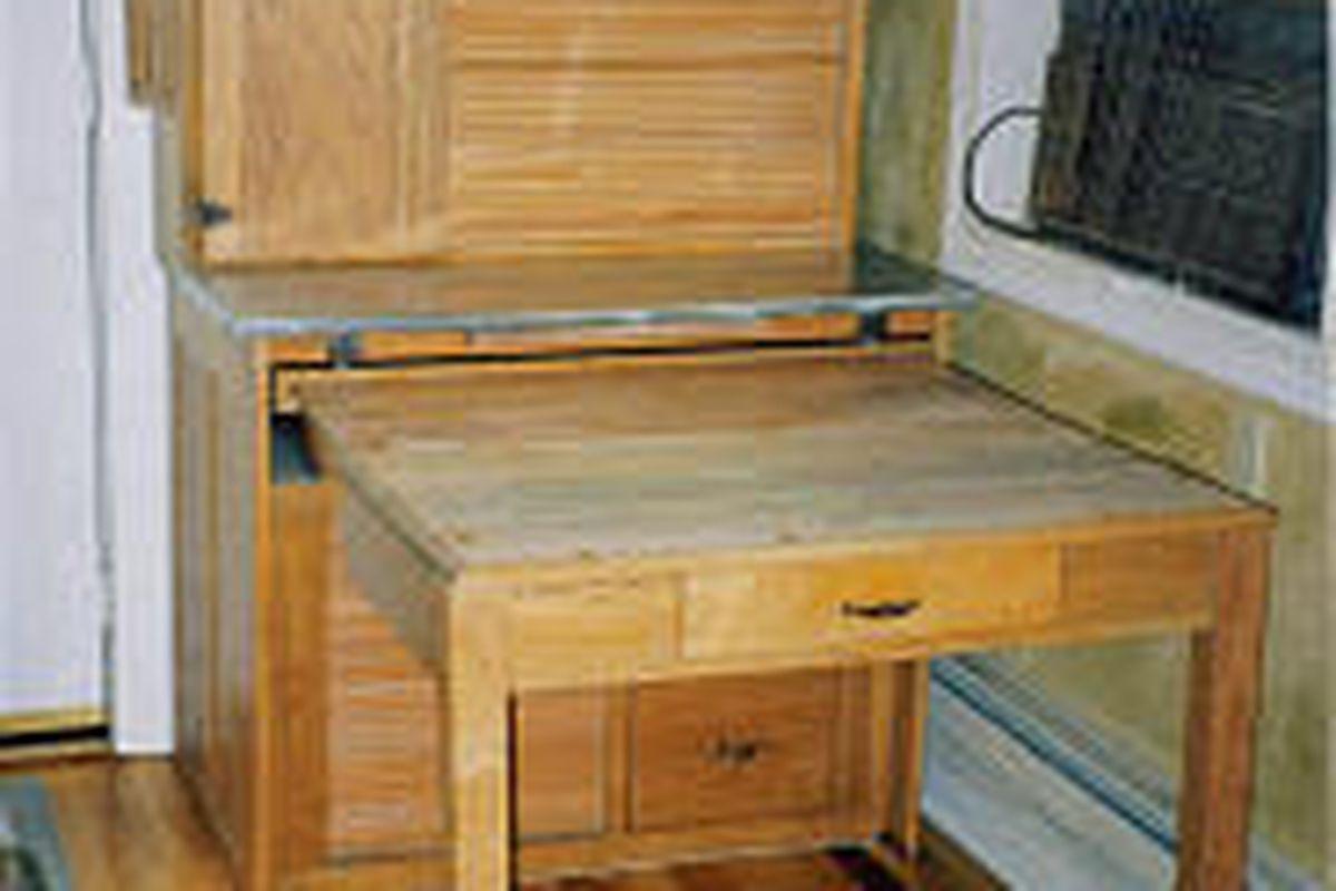 Helaine Fendelman & Joe Rosson: \'Hoosier cabinet\' a kitchen ...