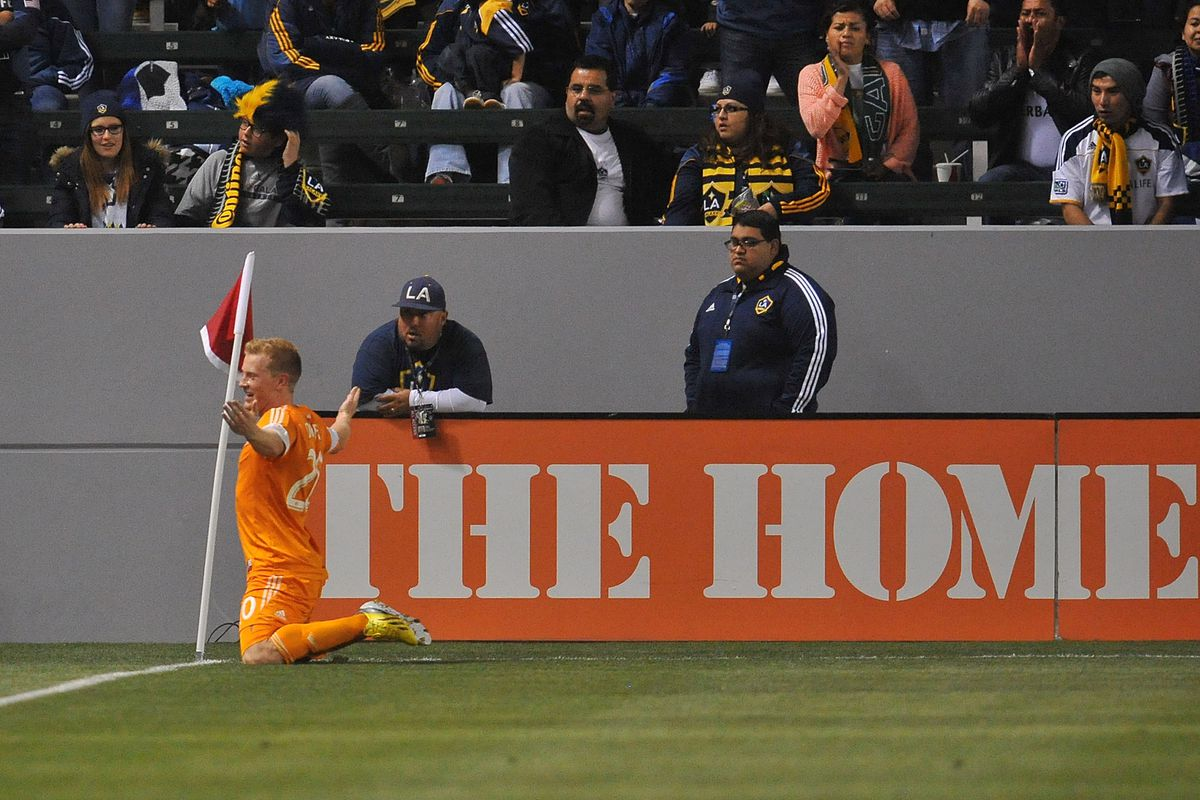 LA Galaxy fans:  Why so serious?