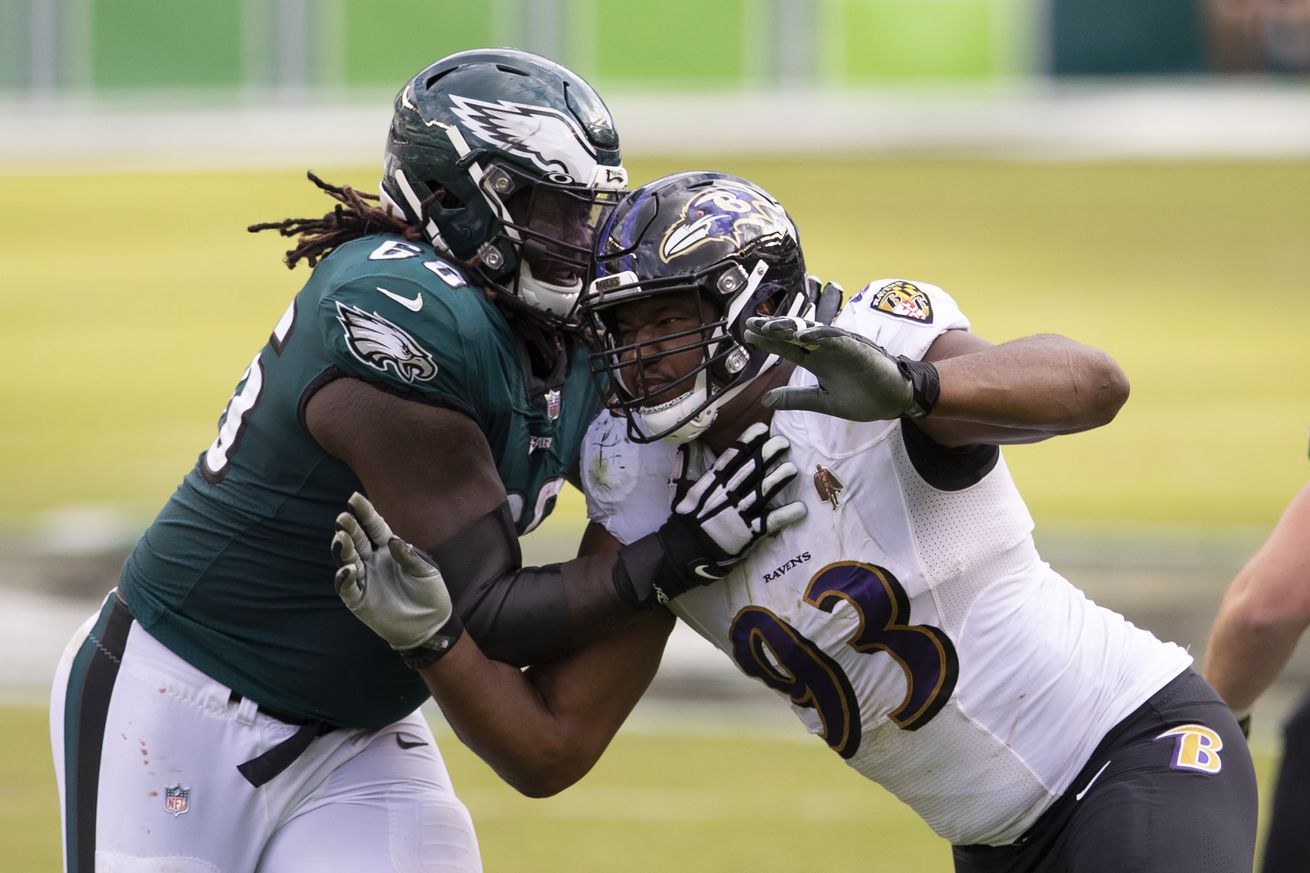 Eagles designate four practice squad protections ahead of Week 8