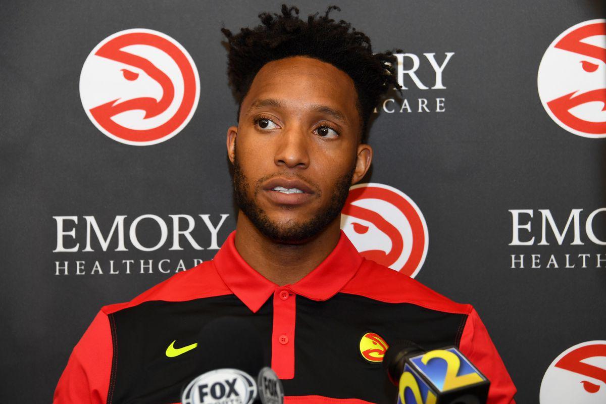 Atlanta Hawks Introduce Evan Turner