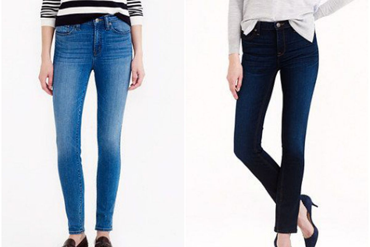 New J.Crew Denim styles: the Look Out and Reid Jean.