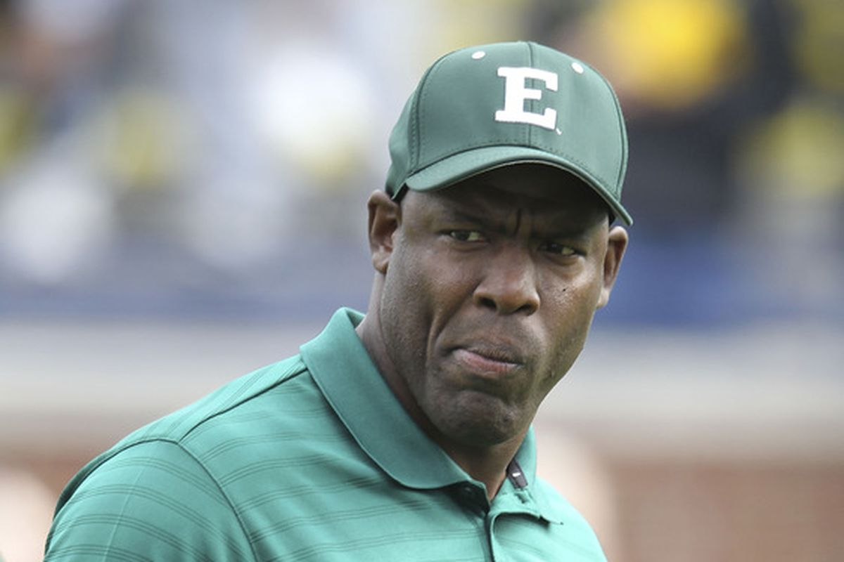 Ron English doesn't like his schedule being messed with.
