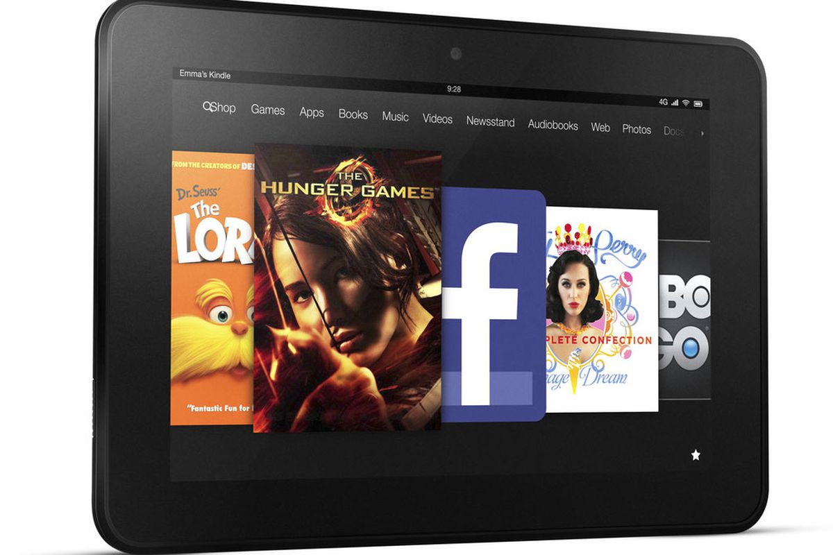 amazon debuts 299 8 9 inch kindle fire hd at t 4g lte for 499