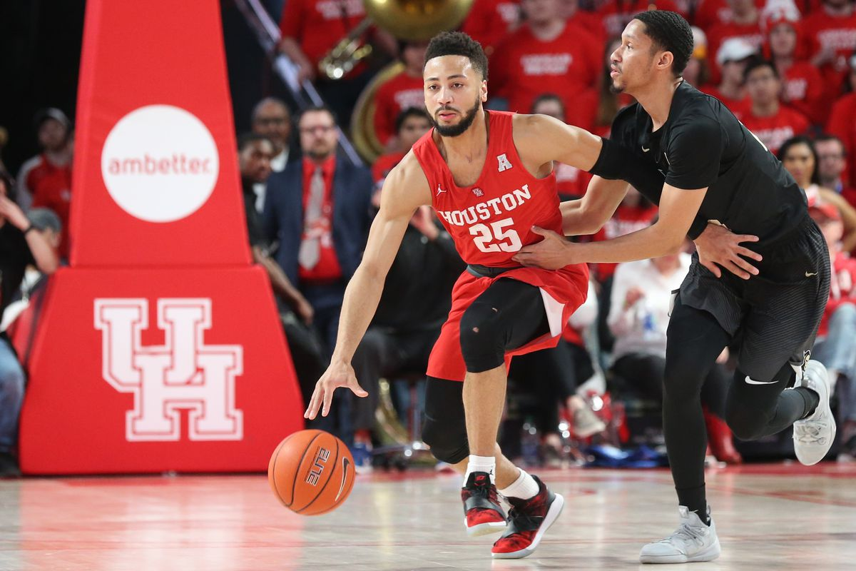 NCAA Basketball: Central Florida at Houston