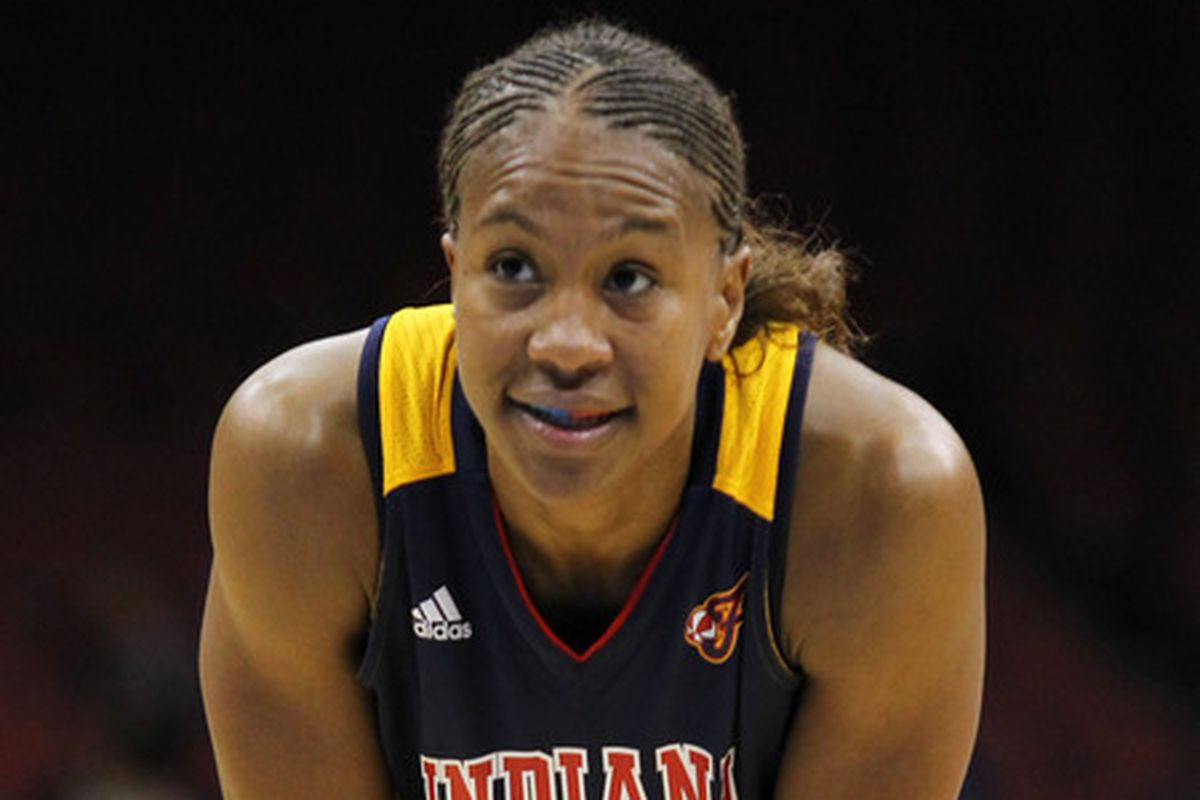 Tamika Catchings is doing her best to help the Fever climb out of last place.