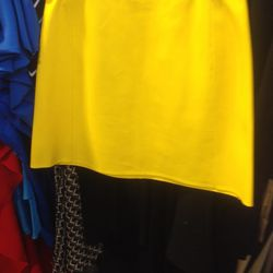 Leather skirt, $779