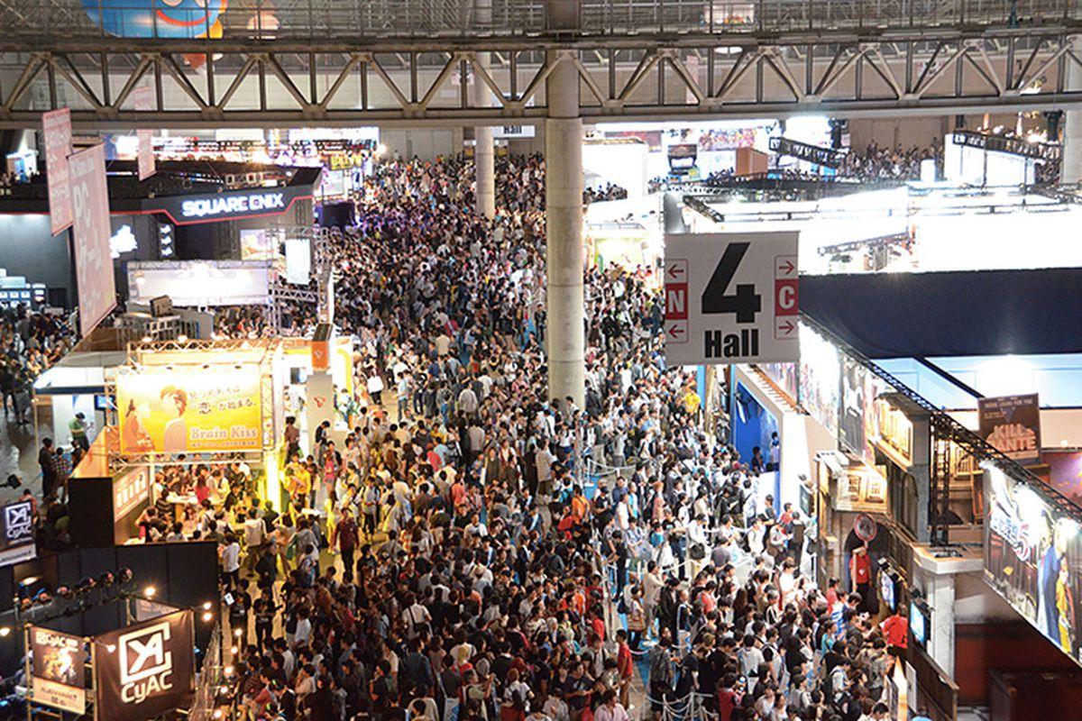TGS 2012 crowd