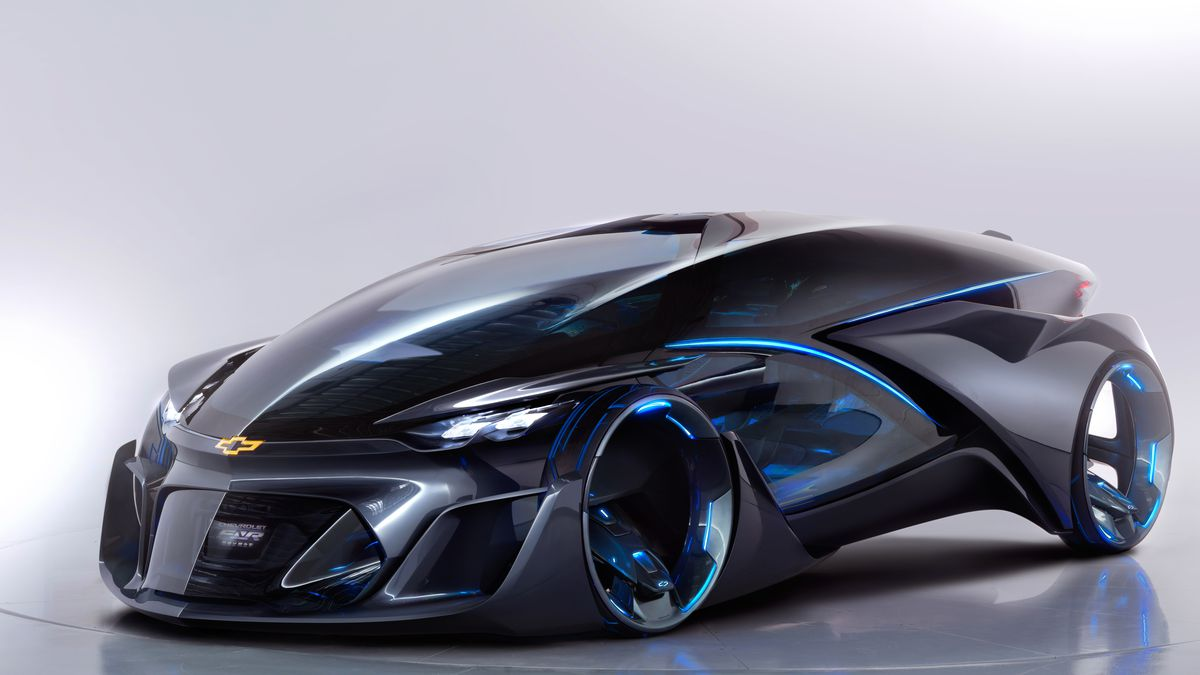 The Chevrolet Fnr Concept Is Impossible To Describe Seriously Just Look At It