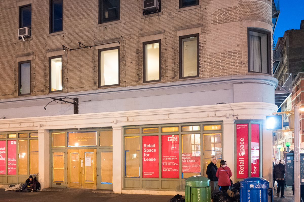 The former home of Spring Street Natural is still available for rent.