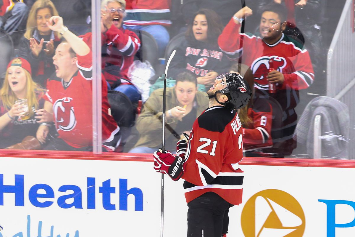 Palmieri may or may not react like this when he eventually does get that next contract done with the Devils. Likely ahead of an arbitration hearing.
