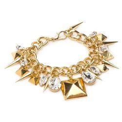 Fallon Stud Charm Bracelet, $88