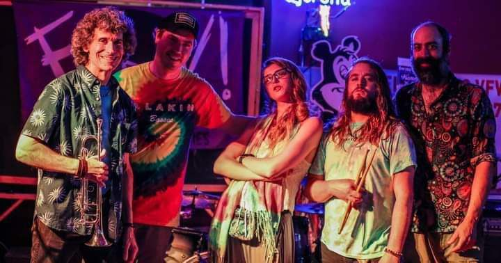 Kevin Clark, second from the right, pictured in the band Jess Bess and the Intentions.