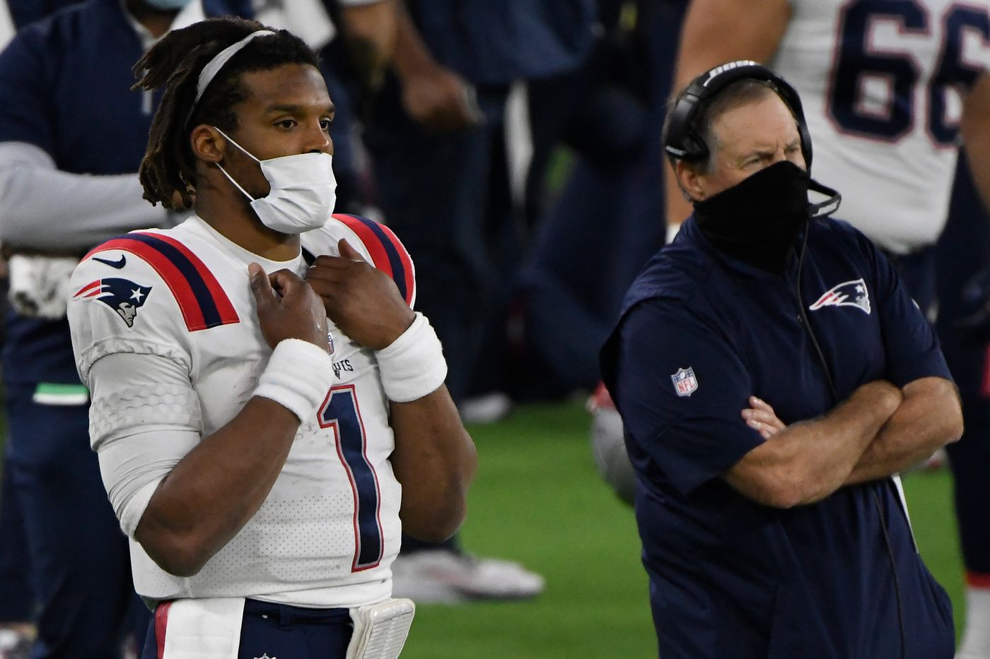 Bill Belichick is sticking with Cam Newton: 'Cam's our quarterback' - Pats  Pulpit