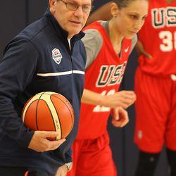 USA Basketball Women's Coach Geno Auriemma