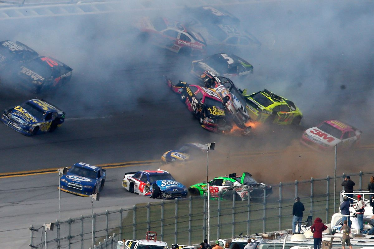 Nascar Talladega Race In Review Thoughts On The Big One
