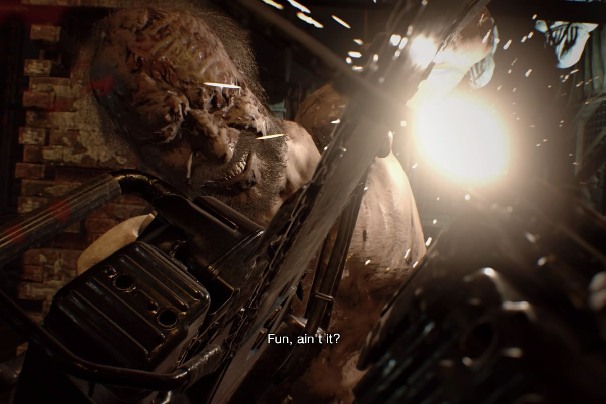 Resident Evil 7 Guide And Walkthrough 2 4 The Final Dog S Head And Jack S Boss Fight Polygon
