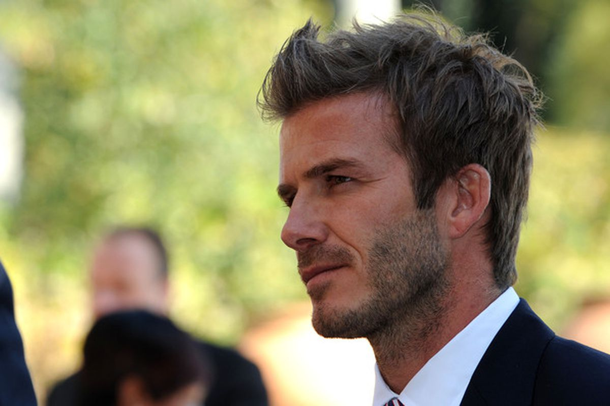 JOHANNESBERG, SOUTH AFRICA - JUNE 19:   David Beckham attends an FA reception at the Saxon Hotel on June 19, 2010 in Johannesberg, South Africa. (Photo by Owen Humphreys - WPA Pool/Getty Images)