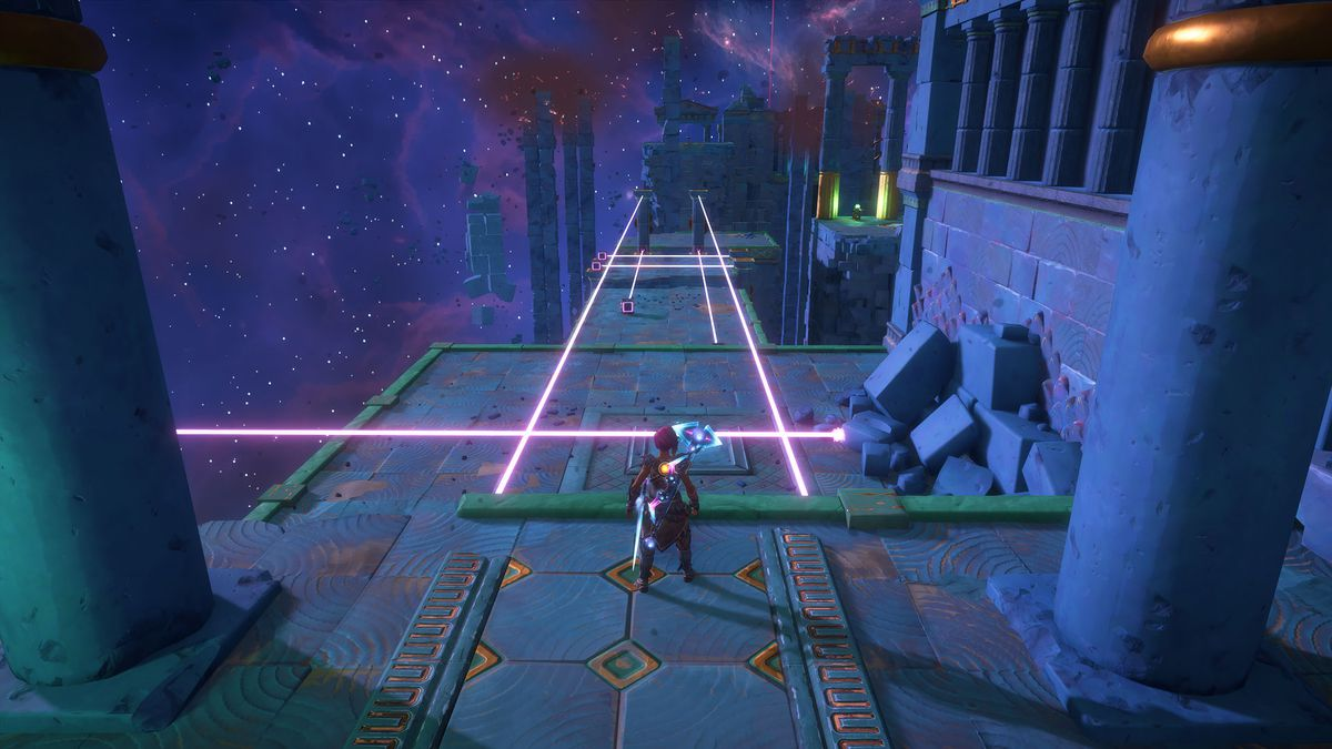 A puzzle solution for The Path to Erebos Vault of Tartaros in Immortals Fenyx Rising