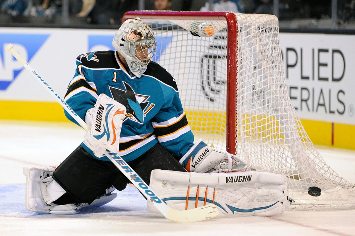 <em>Thomas Greiss gets the start tonight for the Sharks against the Canucks. The game begins at 6:00 PM and will be shown on the NHL Network.</em>