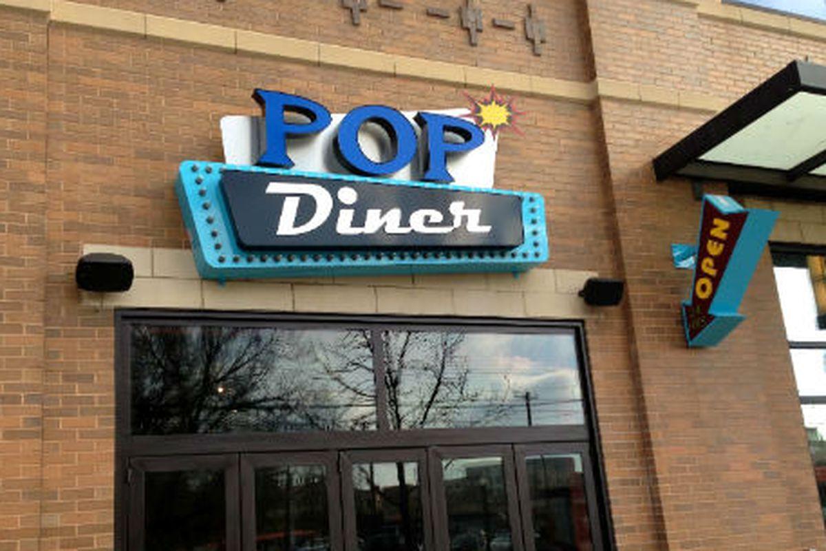 Pop Diner in the West Village.