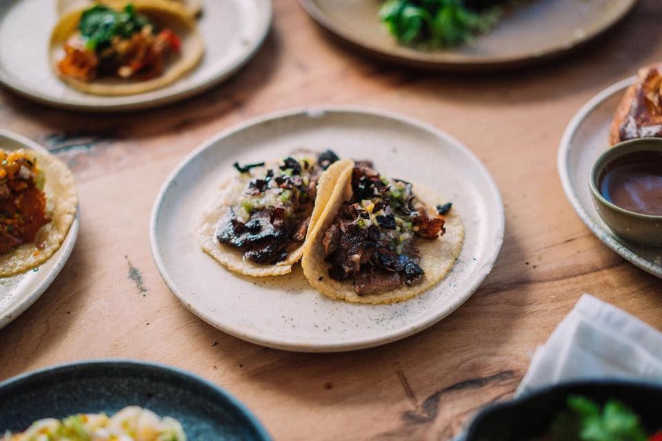 Tacos at Suerte