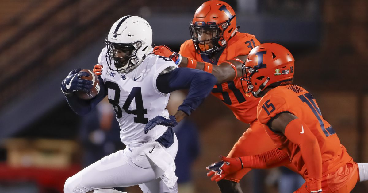Penn State trailed Illinois in the 3rd ... and won...