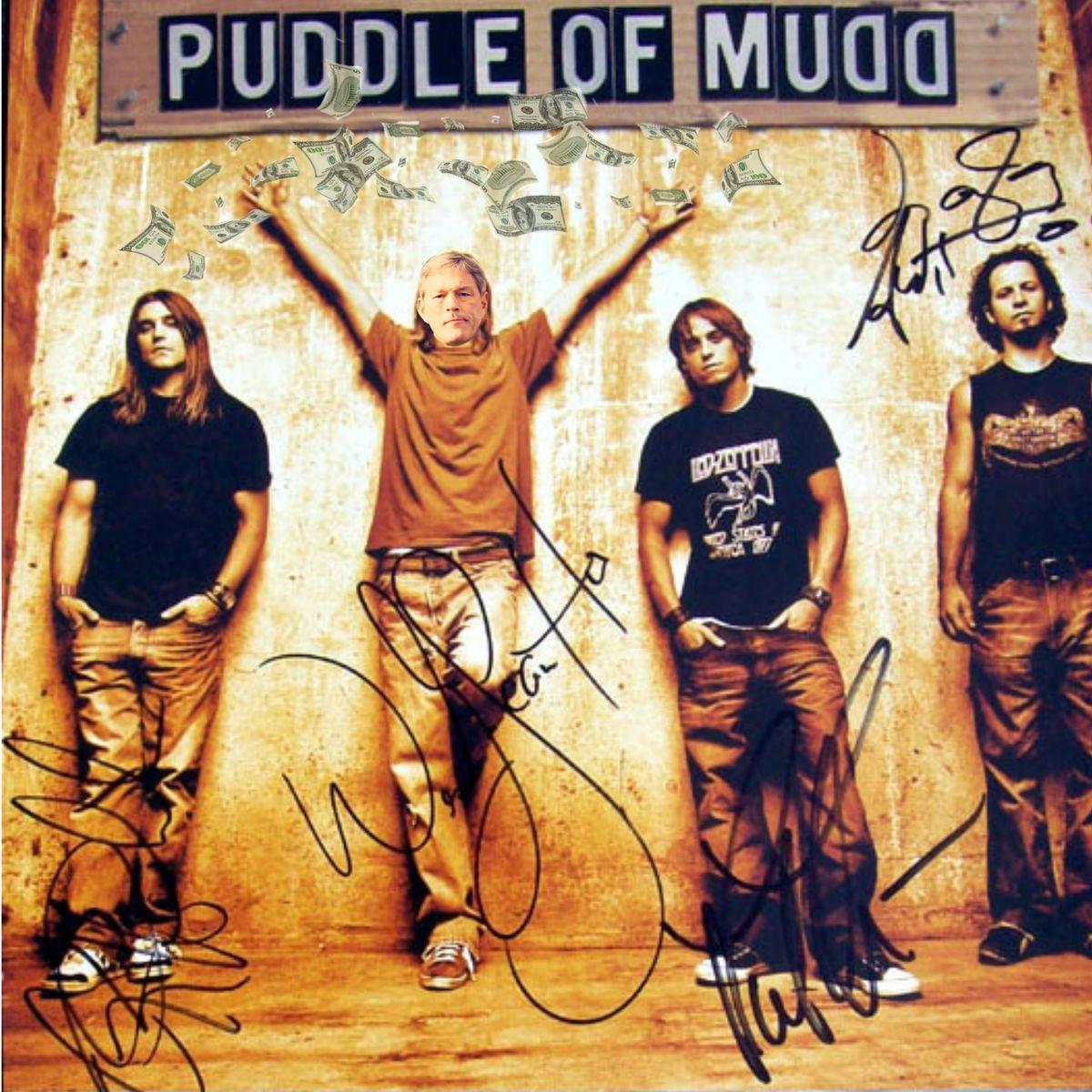 Iowa Puddle of Mudd