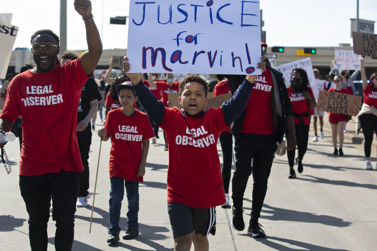 Marvin Scott protest