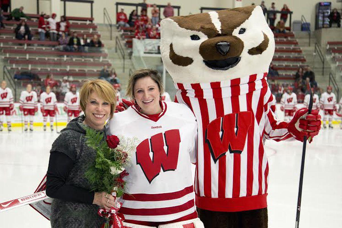 Wisconsin Womens Hockey Ilana Friedman Talks Badger Hockey Life